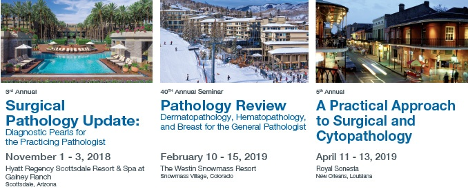 Pathology Meetings in 2019